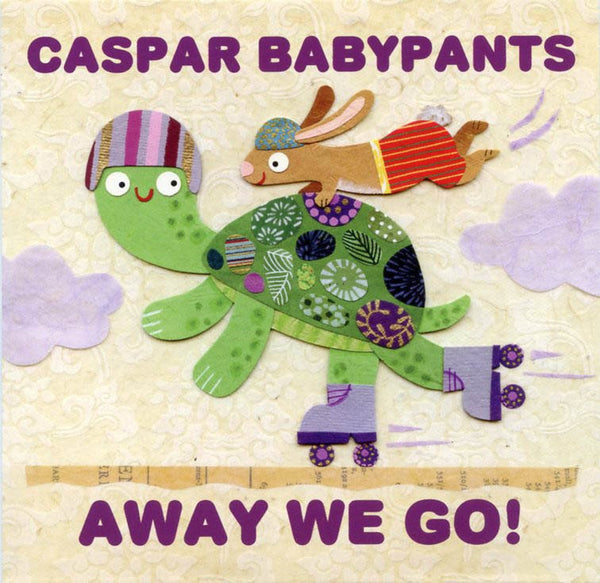caspar babypants away we go cd