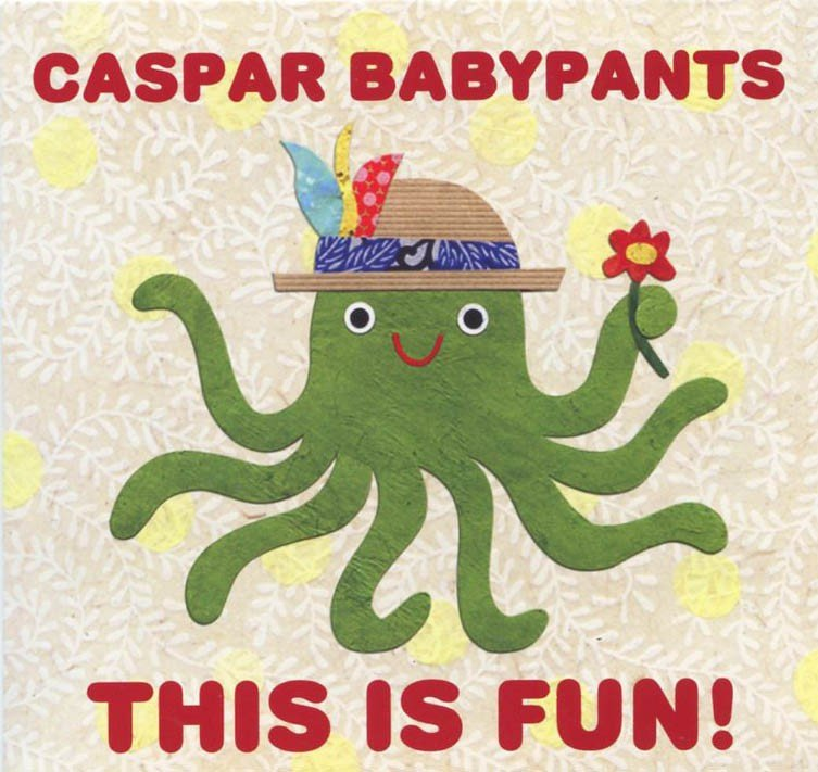 caspar babypants this is fun kids album