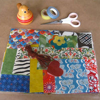 kate endle paper scrap bag