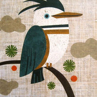 kingfisher art print kate endle