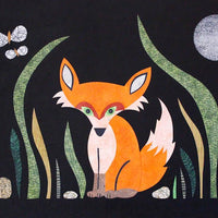 kate endle fox at midnight print