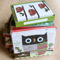 Holiday Owl Notecard Set