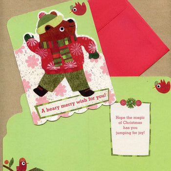 Holiday Bear Notecard Set
