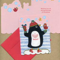 kate endle penguin christmas cards