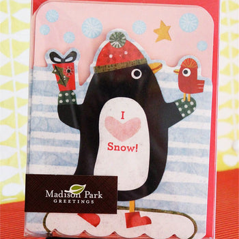 Holiday Penguin Notecard Set