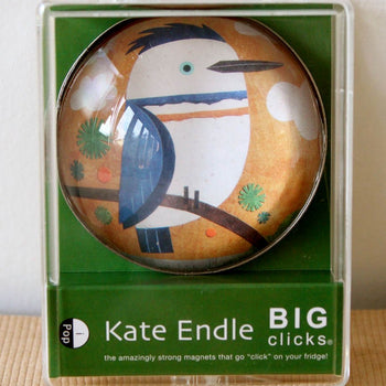 kingfisher kate endle glass click magnet