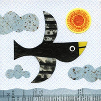 kate endle collage bird art