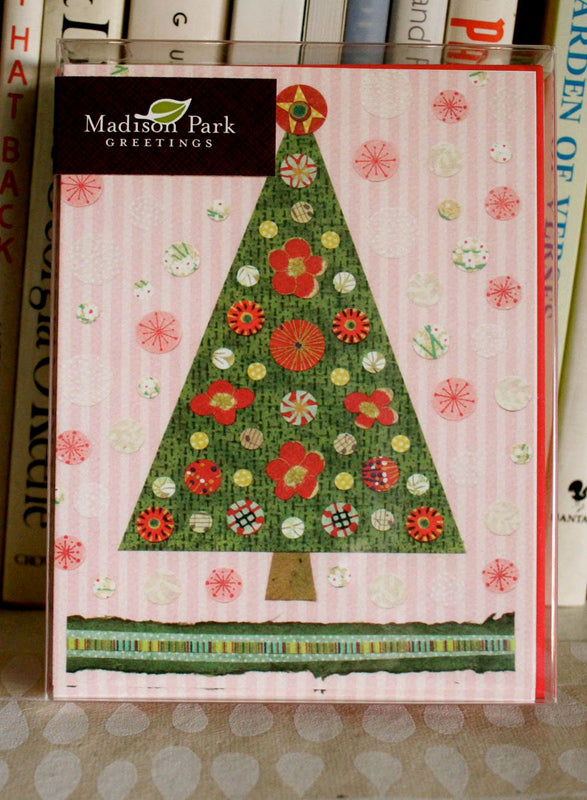 kate endle christmas tree cards