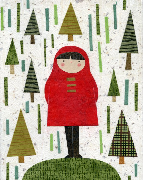 kate endle girl art print