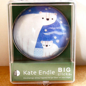 kate endle polar bear magnet