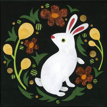 kate endle rabbit art print