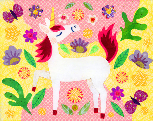 Unicorn Sunshine Print