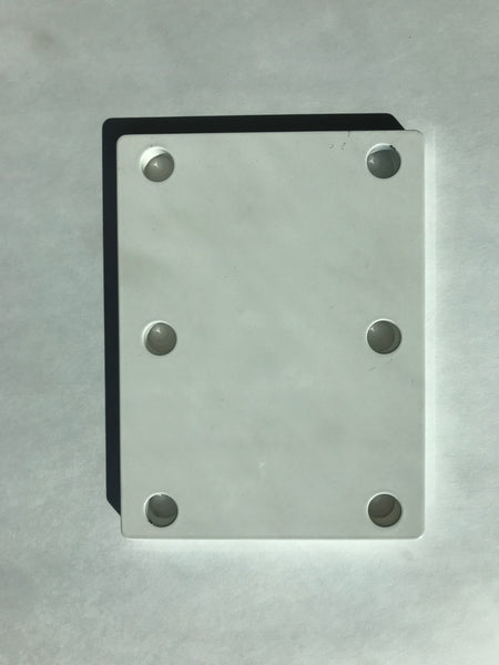 MMT Spacer Plate  Polymer Coated 6061 Aluminum