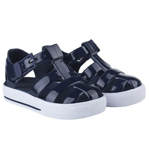 Igor Buckle Strap Tennis Sandal Solid Navy