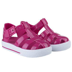 Igor Buckle Strap Tennis Sandal Solid Pink