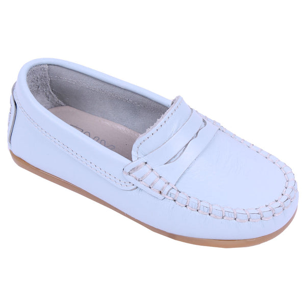 TNY Leather Loafer Pale Blue