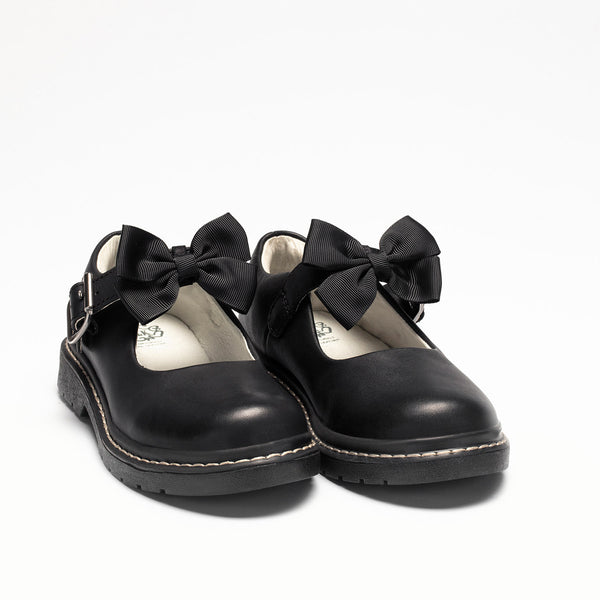 Lelli Kelly Audrey Black Leather Shoes