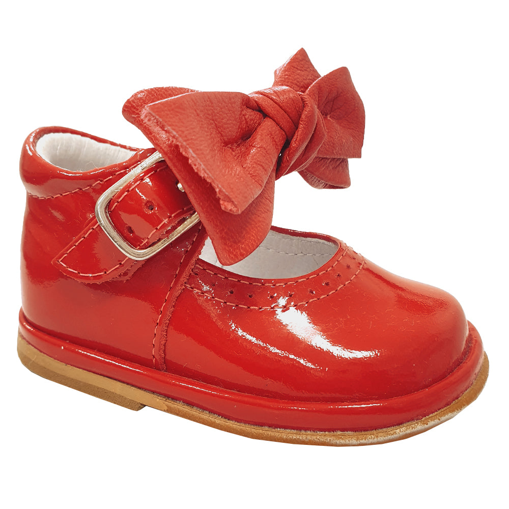 Borboleta Vitoria Patent Shoes Red
