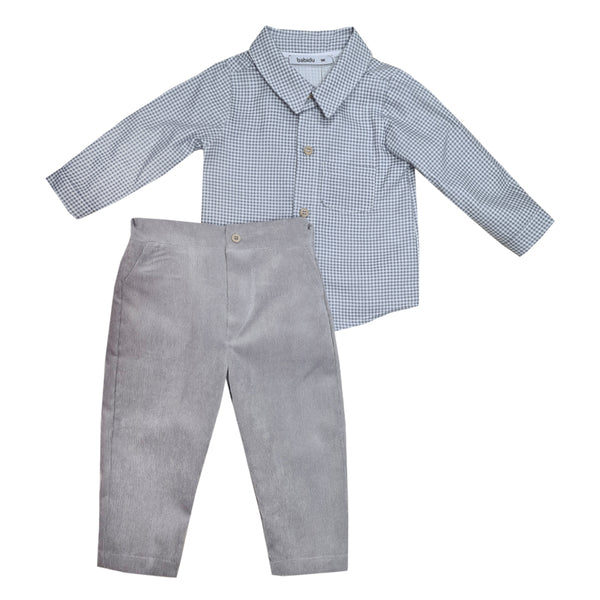 Babidu Shirt Set Grey