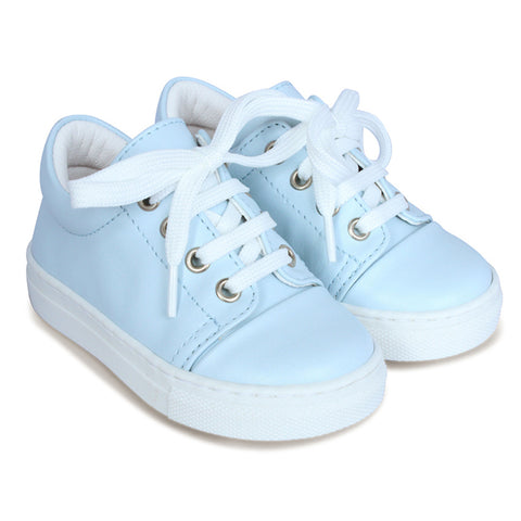 Borboleta Low Lace Up Blue