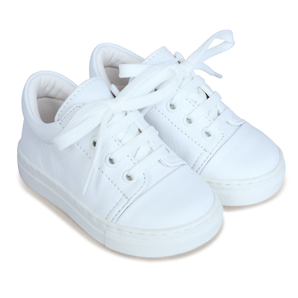 Borboleta Low Lace Up White