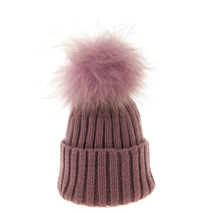 Bowtique London Matching Pom Hat Lilac