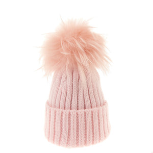 Bowtique London Matching Pom Hat Pink