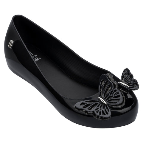 Mini Melissa Ultragirl Butterfly Black