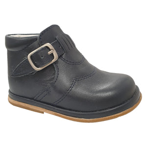 Borboleta Diego Leather Boots Navy