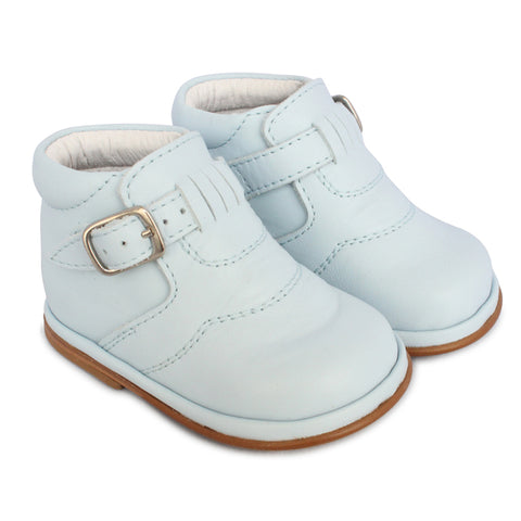 Borboleta Diego Leather Boots Blue