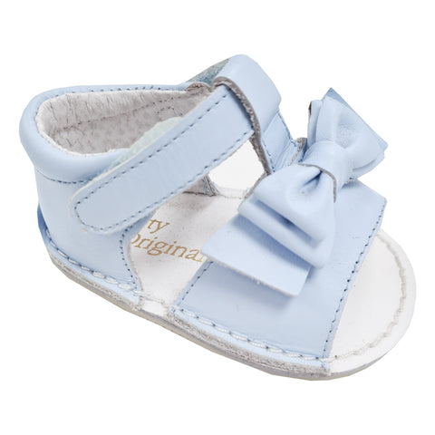 Pretty Originals Double bow Sandal Blue