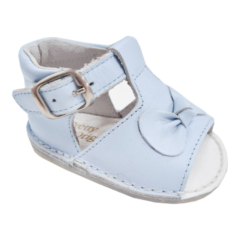Pretty Originals Bow Sandal Blue