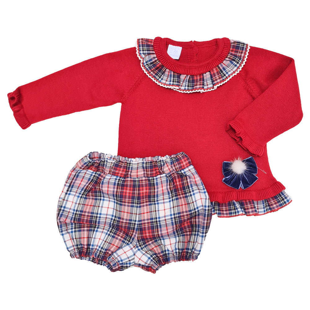Granlei Tartan Girls Set