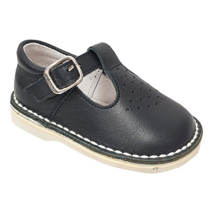 Andanines T-Bar Shoes Navy