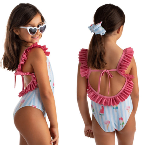 Meia Pata Ice Cream Marbella Swimsuit