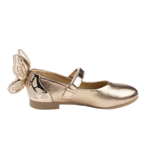 Caramelo Butterfly Mary Jane Rose Gold