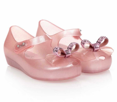Mini Melissa Ultragirl stars Pink Dust Bow