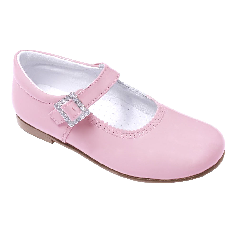 Pretty Originals Leather Mary Jane Pink