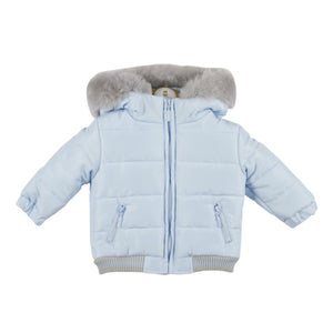 Mintini Blue and Grey Coat