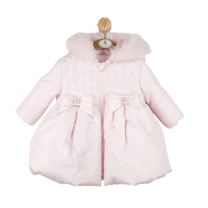 Mintini Pink Quilted Coat