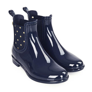 Igor Star Ankle Wellies Navy