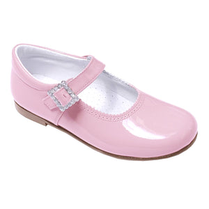 Pretty Originals Patent Leather Mary Jane Pink