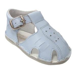 Pretty Originals Cut Out Sandal Pale Blue