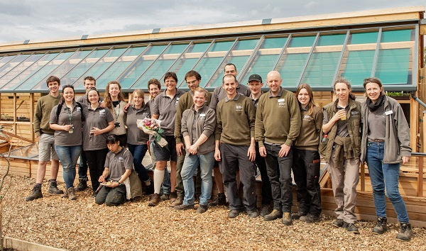 Gabriel Ash and the RHS - Inspiring Everyone To Grow Wisley's New Allotment Plots