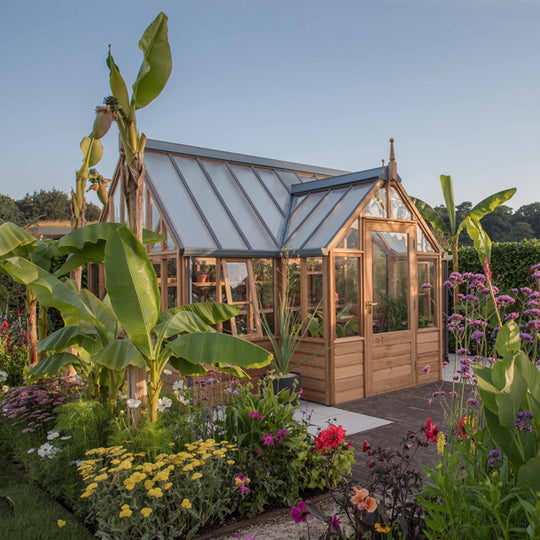 Wooden Greenhouses Endorsed By Rhs Gabriel Ash