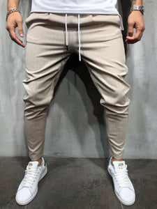 Ankle Pants Streetwear Striped 3932