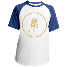White/Royal Blue XIITribe Boy's Raglan Jersey