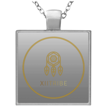 Gold XIItribe Square Necklace