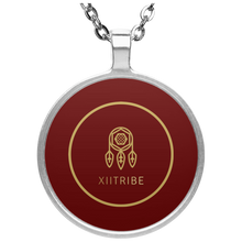 Gray XIItribe Circle Necklace