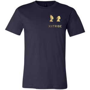 Navy Blue XIITribe Boy's Short Sleeve T-Shirt